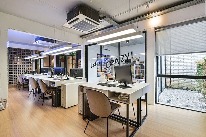Studio Office Design Throughout Cool Ambience Office Style Letting Inspiration Flow With The New Design At Yong Studio