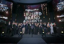 Metropolitan Trusted Brand Awards 2019