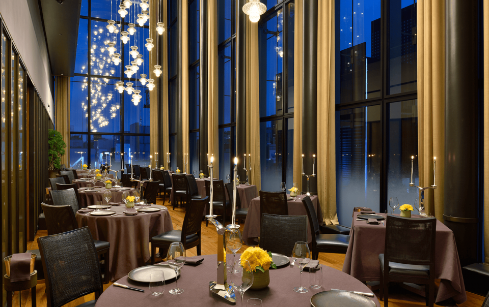 Interiors Commercial Classy Dining Experience with Italian Style
