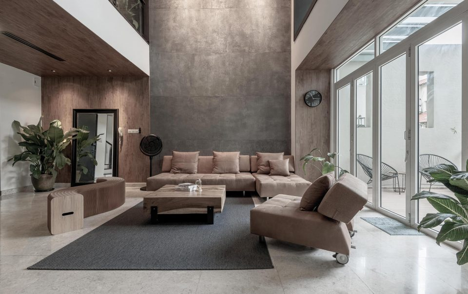 Interior Residential Restrainedly Raw