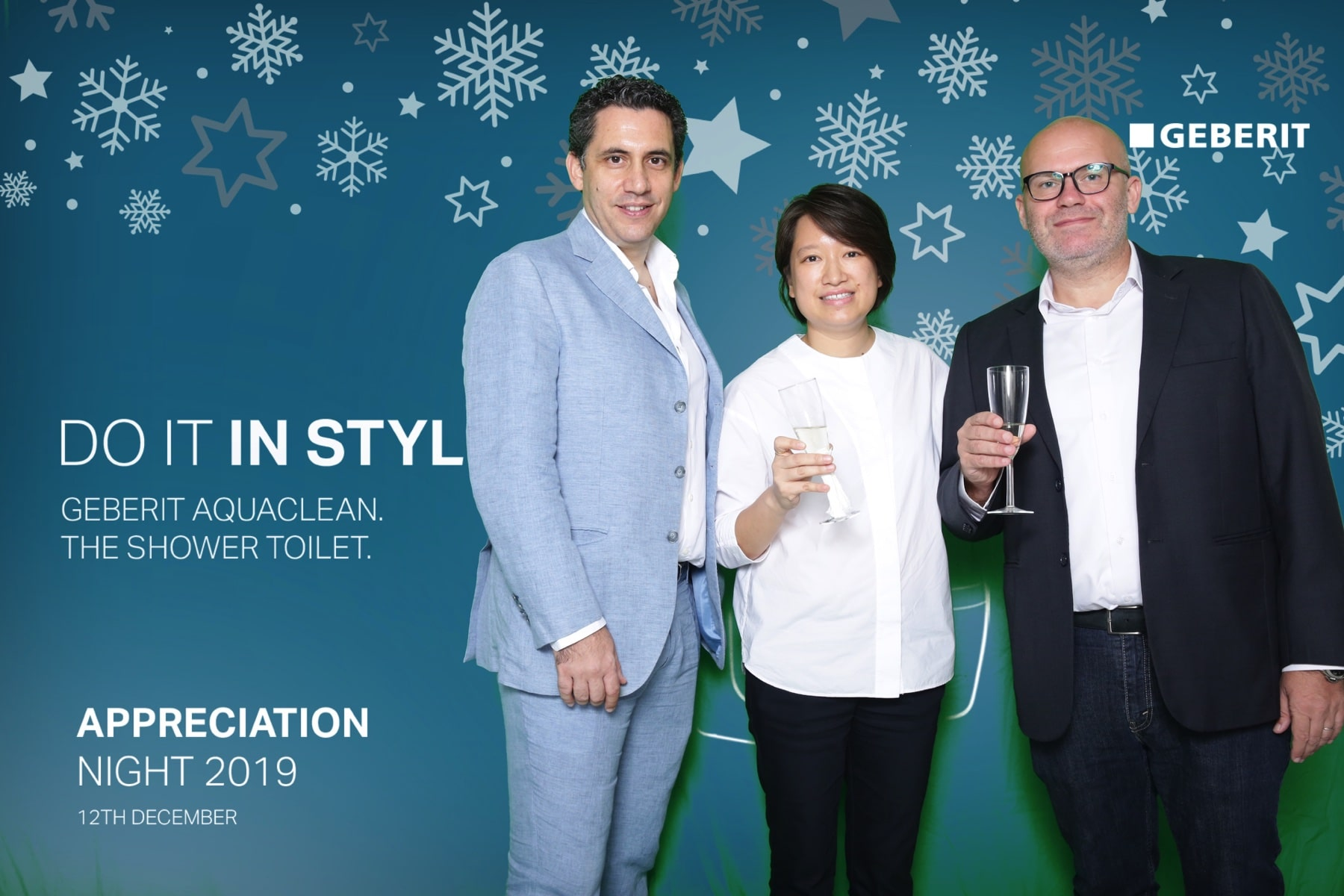 Geberit Appreciation Night 2019