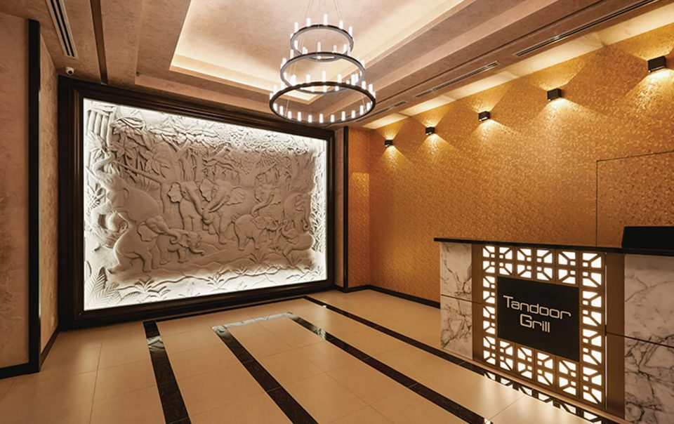 Interior Commercial Lucious Tandoor Grill