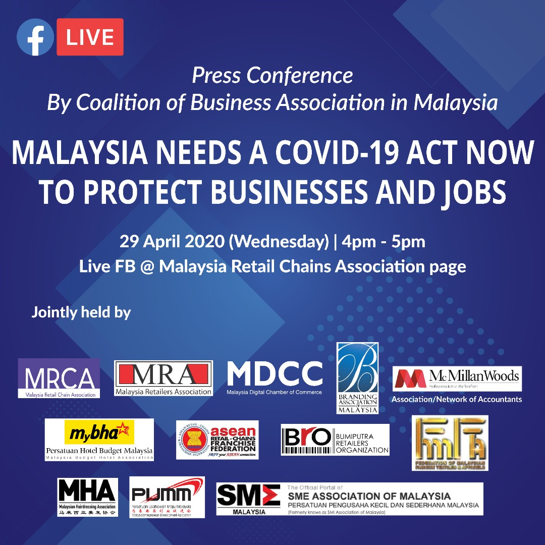 Malaysia Needs A Covid-19 Act Now To Protect Businesses & Jobs