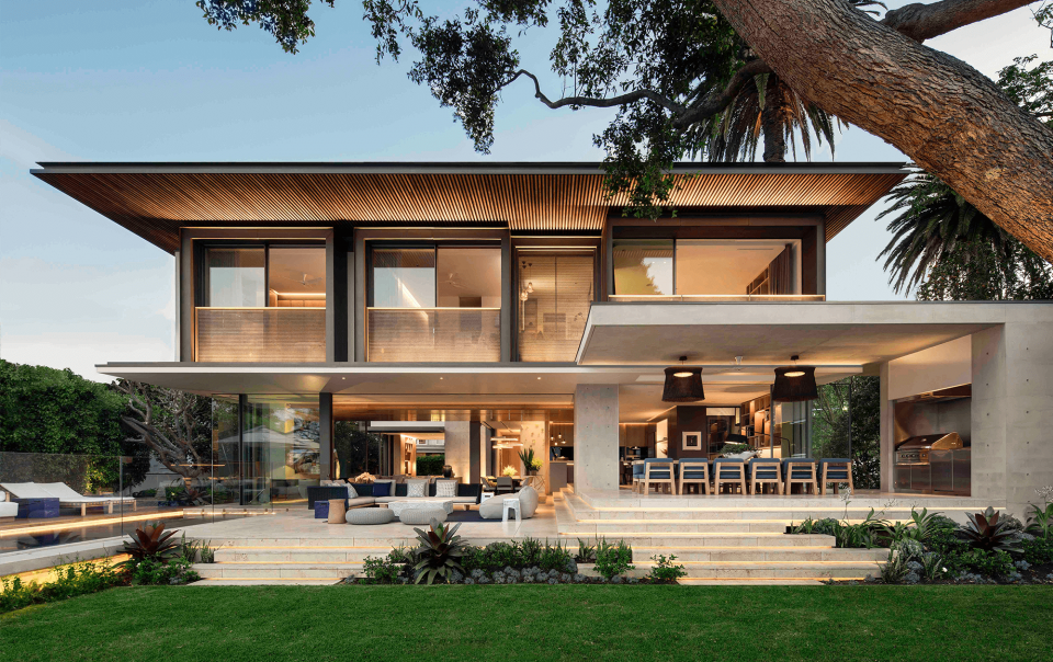 Interior Residential dwelling in double bay
